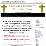 Thumbnail image for After a three month closure the Leeds and Moortown Furniture Store looks to restart business