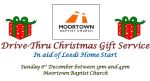 Thumbnail image for Drive-thru Christmas Gift drop – 1pm till 3.30pm, Sunday Dec 6th – supporting Leeds Home Start & Leeds North West Food Bank