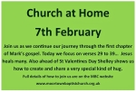 Thumbnail image for Church at Home, February 7th