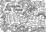 Thumbnail image for Church at Home, 10.30am Sunday 21 February – Journeying with Jesus, Chat Mats and Communion… all on Zoom
