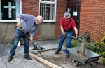 Thumbnail image for Ahead of our annual Plant Sale MBC's garden upgrade starts to take shape