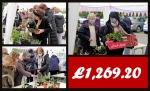 Thumbnail image for Despite torrential rain MBC's gazebo plant sale raises over £1,250